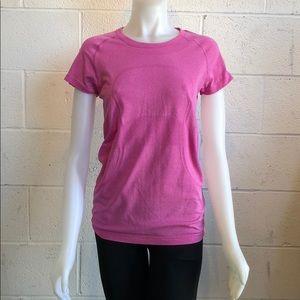 lululemon athletica Tops - Lululemon pink run swiftly size 8 60327